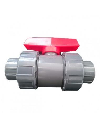 Válvula de esfera PVC de roscar