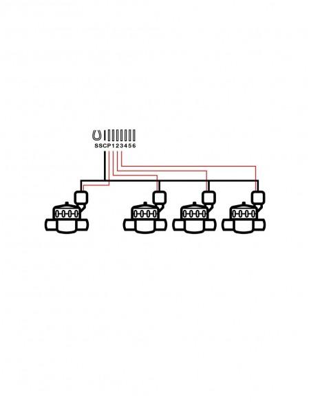 Programador agrícola DC SOLEM BL-AG1 estación Bluetooth