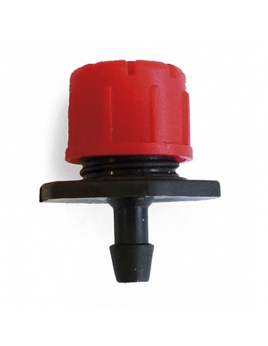 Gotero regulable variflow rojo 0-49 l/h