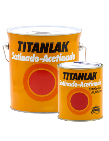 Titanlak Esmalte COLORES Satinado