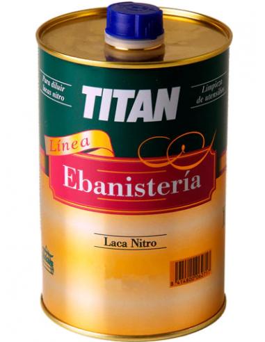 Laca nitro titan ebanistería 750ml