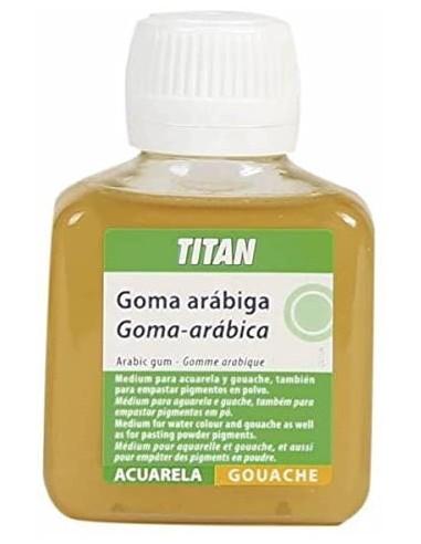 Goma arábiga de 100 ml TITAN