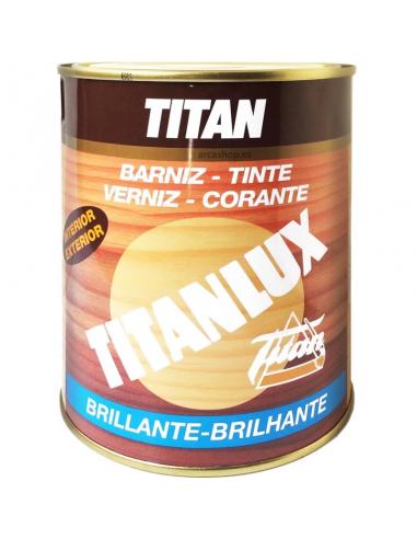 Barniz tinte titan