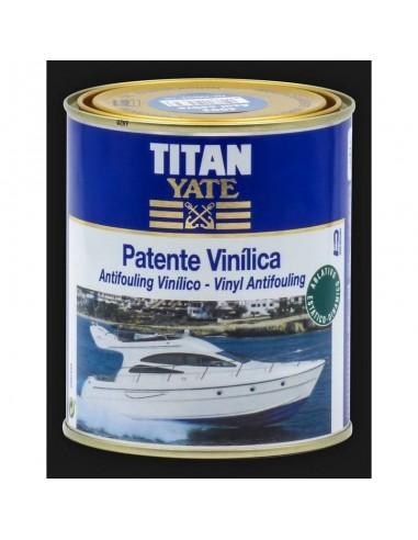 Titan yate patente vinílica verde...