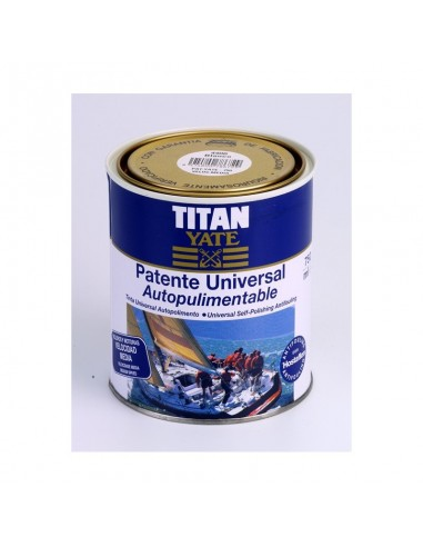 Tinte universal titan yate patente...
