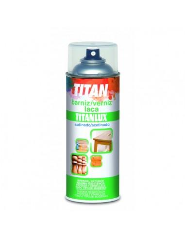 Spray barniz sintético de titan 400ml