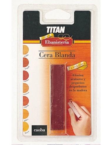Cera blanda de ebanistería titan